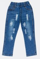 POP CANDY - Girls Slim Leg Jeans Pale Blue
