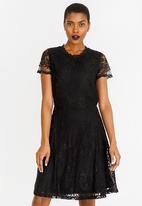 ONLY - Mystery Lace Dress Black