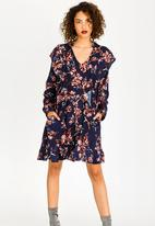 STYLE REPUBLIC - Frill Detail Dress Floral