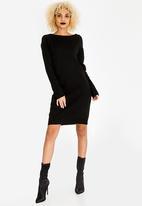 STYLE REPUBLIC - Open Back Dress Black