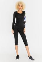 Reebok - Active Chill Long Sleeve Compression Top Black