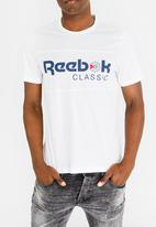 Reebok Classic - Foundation classic tee - white