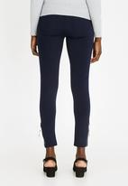 cath.nic - Zip Detail Trousers Navy