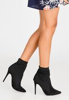 Madison® - Kase Sock Ankle Boots Black