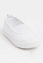 POP CANDY - Slip On White