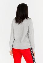 KAPPA - Authentic Crew Sweatshirt Grey Melange