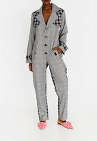 Chulaap - Long Sleeve Jumpsuit Grey