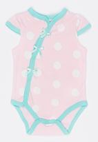 POP CANDY - Shortsleeve Bodysuit Pale Pink