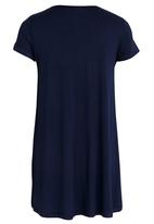 Rebel Republic - Criss Cross Front A-line Dress Navy