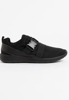 Brave Soul - Ramsey Neoprene Sporty Sneakers Black