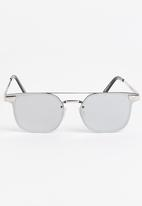 Spitfire - Subspace Sunglasses Silver