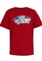 Vans - Printed Tee Red