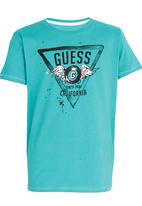 GUESS - G Wings Tee Light Green