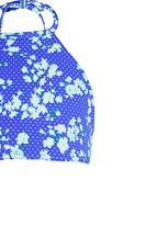 Sun Things - Halter Top & Basic Panty Set Dark Blue