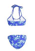 Sun Things - Strappy Bralet & Panty Set Dark Blue