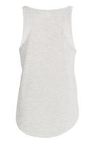 POP CANDY - Shell Sequin Vest Grey