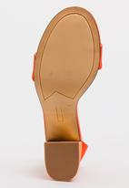 Zoom - Tasha Ankle-strap Heels Orange