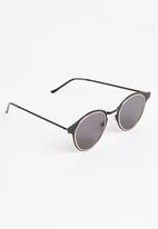 Spitfire - Wrap Sunglasses Black