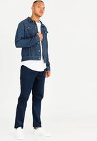 Resist - Denim Trucker Jacket Mid Blue