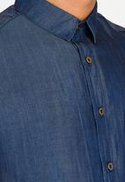 Resist - Denim Shirt Dark Blue