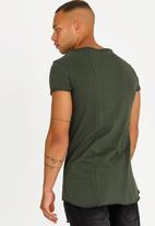 STYLE REPUBLIC - Ruffian Angel Tee Khaki Green
