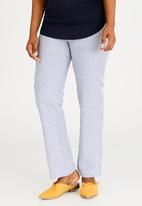 edit Maternity - Linen Wide Leg Pants Multi-colour