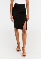 edit - High Waisted Pencil Skirt Black