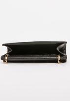 BLACKCHERRY - Glitter Clutch Bag Black