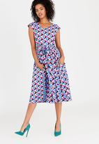 Isabel de Villiers - Tea Dress Multi-colour