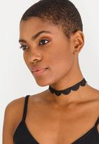 Jewels and Lace - Lace Choker Twinpack Multi-colour
