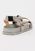 Awol - Strappy Sandals Dark Grey