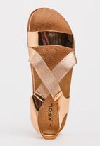 Awol - Strappy Sandals Gold