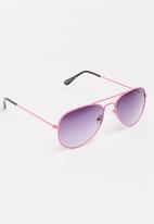 POP CANDY - Aviator Sunglasses Mid Pink