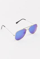 POP CANDY - Aviator Sunglasses Silver