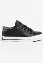 Tom Tom - Trace Sneaker Black and Grey