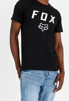 Fox - Dusty Trails Tee Black
