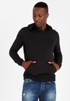 STYLE REPUBLIC - Urban Fleece Hoody Black