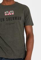 Ben Sherman - Original Crew Neck Tee Charcoal