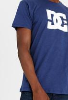 DC - Star Standard Slubby Short Sleeve Tee Blue
