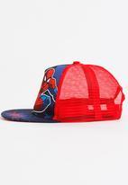 Character Fashion - Spider - Man Trucker Cap Blue