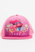 Character Fashion - Trolls Trucker Cap Dark Pink