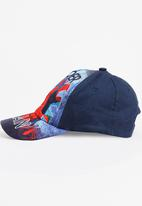 Character Fashion - Spider Man Peak Cap Multi-colour