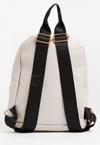 POP CANDY - Girls Pu  Backpack Cream