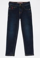 SOVIET - B Togo Denim Jeans Black and Blue