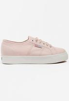 SUPERGA - Mid Wedge Sneakers Pale Pink