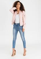 ONLY - Linea Bomber Jacket Pale Pink