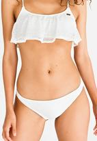 Roxy - Surf Bride Bikini Bottom Cream