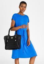 Miss Black - Florence Structured Tote Bag Black