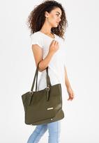 BLACKCHERRY - Shopper Bag Khaki Green
