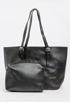 BLACKCHERRY - Shopper Bag Black